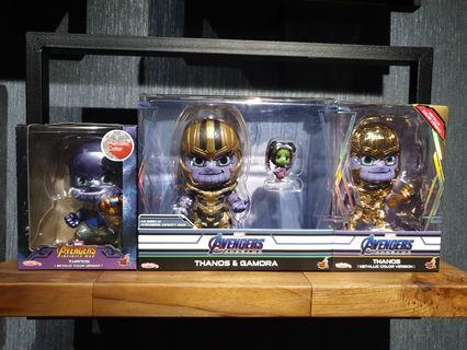 Hot Toys Avengers Infinity War and Endgame Thanos Cosbabys MISB