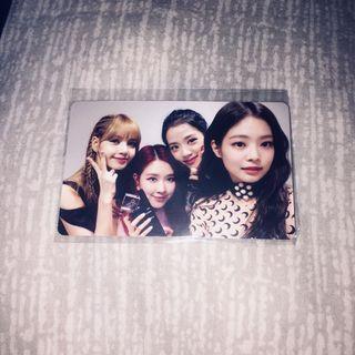 BLACKPINK photocard