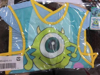 (包郵)怪獸公司-大眼仔背心防水飯衣