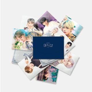 [BATCH 2] BTS 5th muster mini photocard/guestbook card set