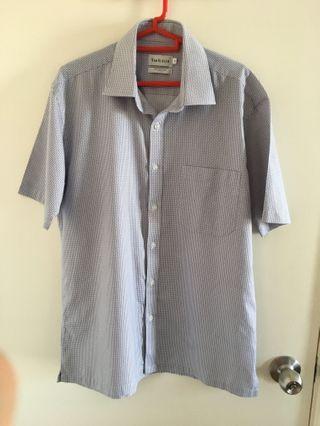 Van Heusen Short Sleeve Shirt Men