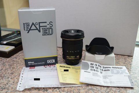 Nikon DX 12-24 f4g