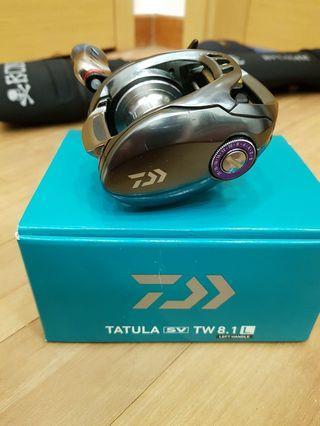 Daiwa Tatula Sv Tw 8.1 Left with Livre Fino Knobs