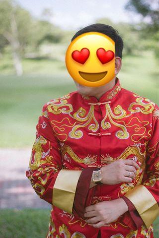 Chinese transitional wedding - man