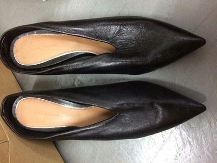 Zara 女裝 3吋 尖頭鞋 高根鞋 高踭鞋 36