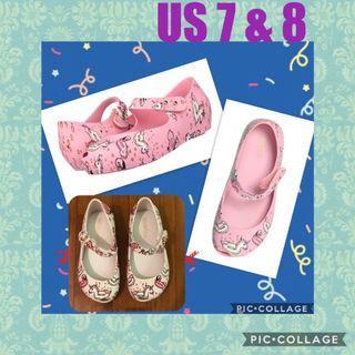 $50 (U.P $55) promotion Melissa mini Ultragirl unicorn theme US 7 & US 8 in stock