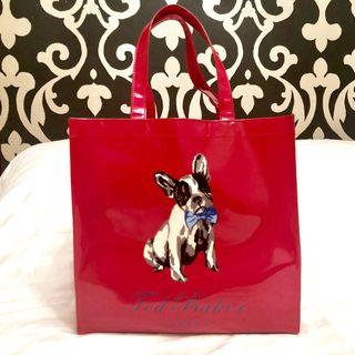 Ted Baker French Bulldog Graphic Tote, Dogcon Ikon Bag, Large Size