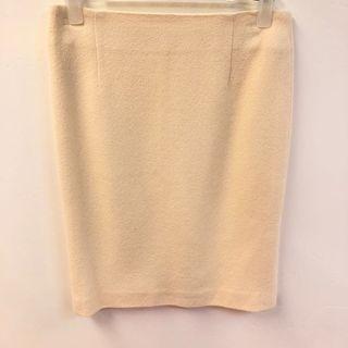 Christian Dior cream white skirt size F36