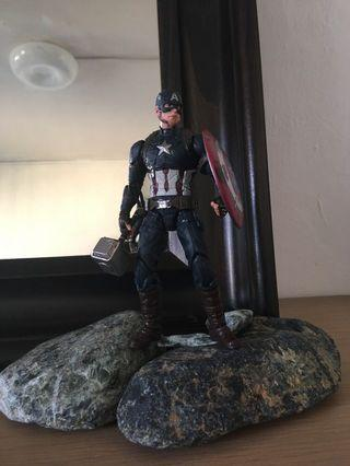 Marvel Legends Exclusive Worthy Endgame Captain America