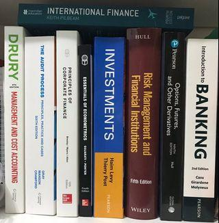 University of Essex (UOE) - Accounting & Finance textbooks