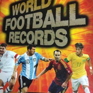 Used World Football Records Fifth Edition Hardcover Book