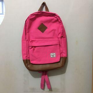 Herschel Heritage Mid Volume 11 Liter Neon Pink Ransel/Backpack Laptop