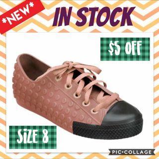 $70 (U.P $80 ) 10 off Melissa Polibolha shoes US 8 Eur 39 in stock