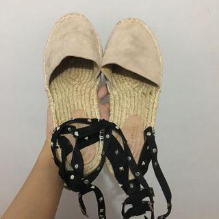 Asos Espadrilles (Valentino Rockstud Lookalike) Summer Sandal/Shoes