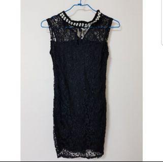 【實拍】黑色,類似旗袍感覺