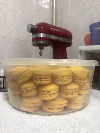 Less Sweet Macarons