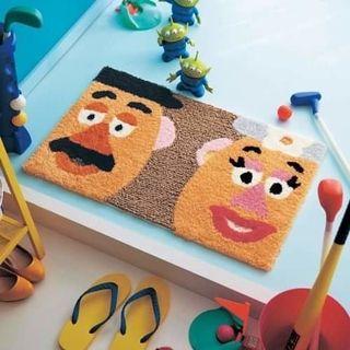 Toystory Mr.&Mrs.Potato Head 薯蛋頭地氈 [日本直送]