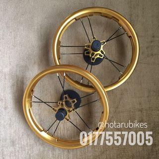 Balance bike wheels