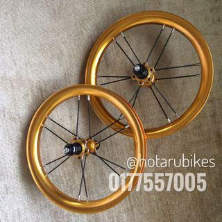 Alloy wheels for balance bike