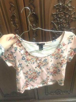 Croptop forever 21