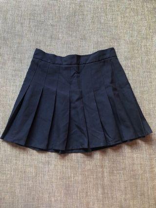 TEM Navy Blue Tennis Skirt