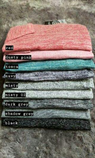 NEW Sweatshirt Rib Terry | Kaos lengan panjang