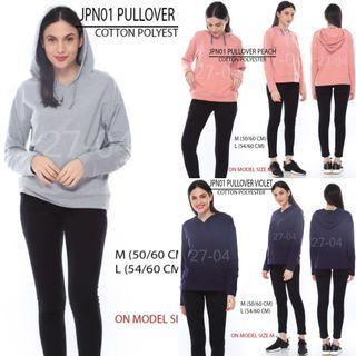 Branded Japan Brand Pullover Hoodie