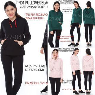 Branded Japan brand Pullover hoodie sweater
