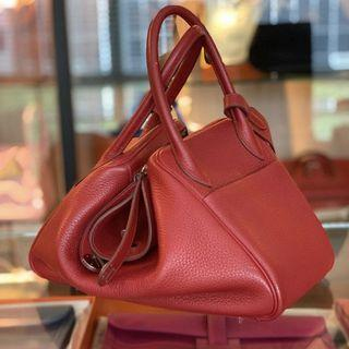 Hermes Lindy 30 in Rouge Garance