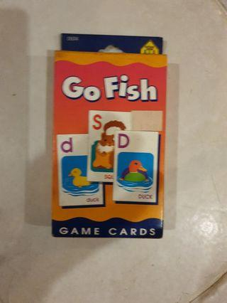 🚚 GO FISH - GAME CARDS