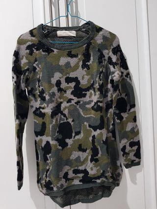 Sweater Army Zara