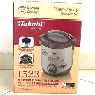 Takahi 2-Cup Mini Electric Rice Cooker 0.4-Litre