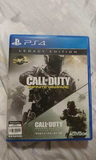 PS4 PlayStation 4 Game Call of duty infinite warfare