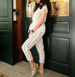 Pants Stripe Fashion