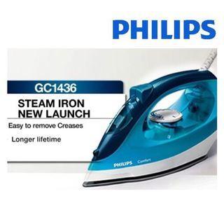 BN Philips Steam Iron GC1436