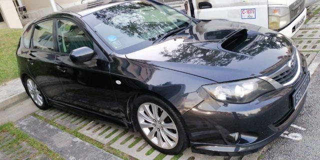 Subaru Impreza WRX 2.5 5-Dr Manual