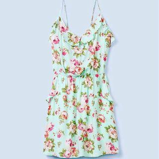 Aritzia Talula Floral Dress Size S