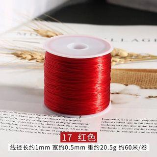 像筋繩 手串繩 彈力繩 紅色