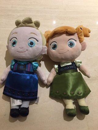 Anna and Elsa Stuffed Doll