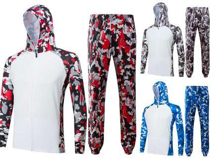 🚚 Outdoor Sports Hoodie Set (Can Print Logo!)