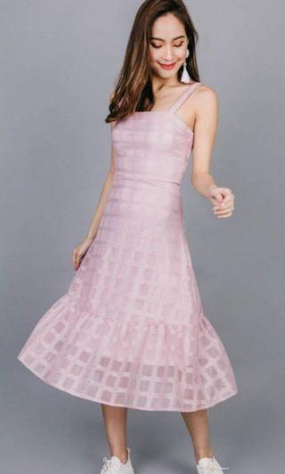 🚚 Ohvola Tabitha Textured Dress