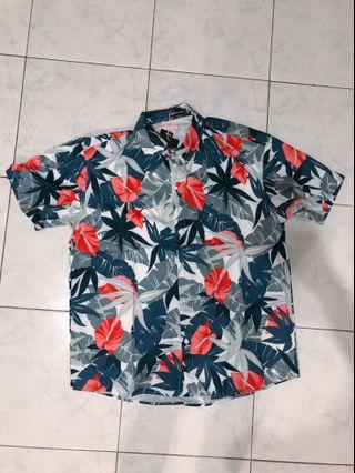 Hawaiii Flora shirt - 2XL for man ( can buy for your bf/husband or someone you lovessss)