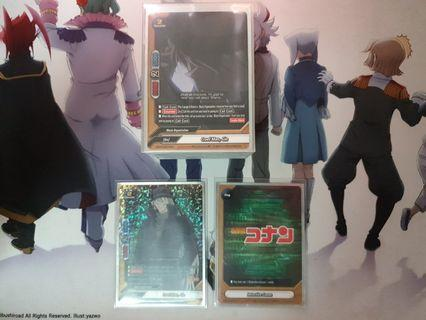 Buddyfight detective conan/black organisation deck