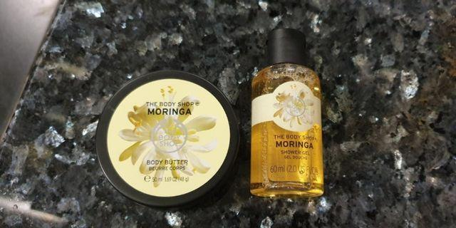 🚚 New The body shop Body butter or The body shop Moringa Shower Gel