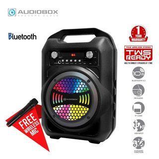 Audiobox BBX600 BBX 600 Portable Bluetooth Speaker Free Wireless Mic  RM95.00  Model: Genuine AudioBox BBX600 TWS