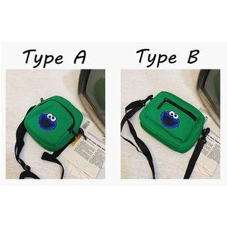 Sesame Street Shoulder Sling Bag • Green
