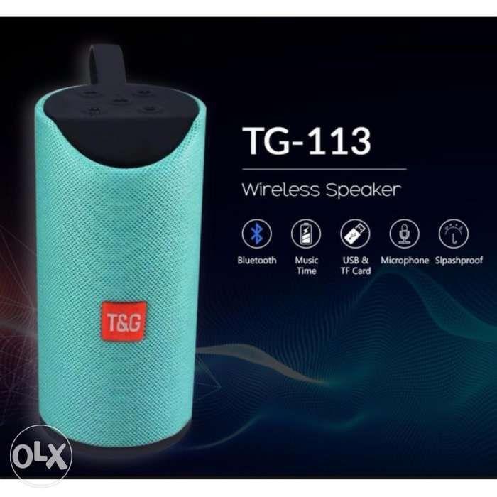 TnG Super MegaBass Splashproof Wireless Bluetooth Speaker on