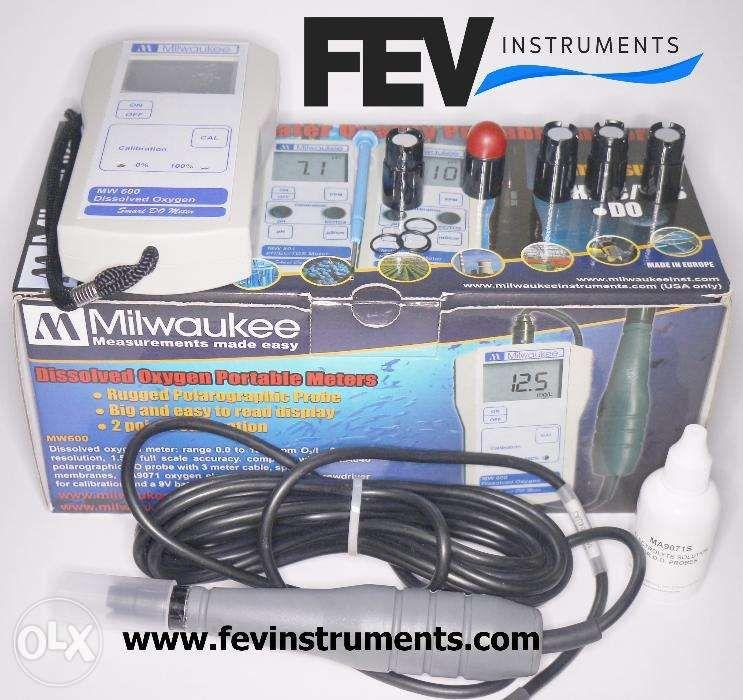Dissolved Oxygen DO Meter Made in Europe Model MW600 by Milwaukee Inst