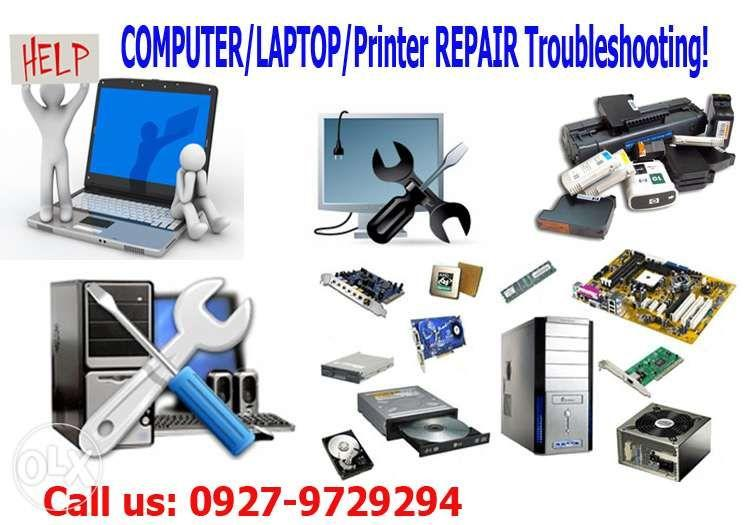 Computer Technician IT service Desktop Laptop Printer Repair 09175911862.