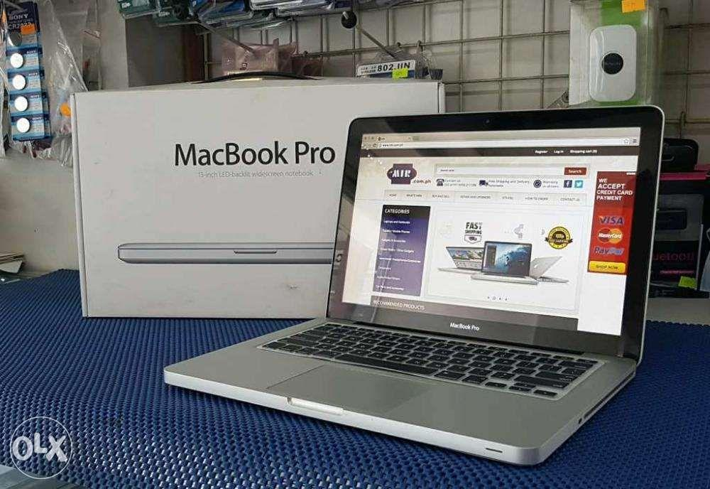 Macbook Pro 13inch Core i7 SSD HDD Setup with Box